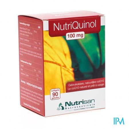 Nutrisan Nutriquinol 100 mg NF 90 capsules
