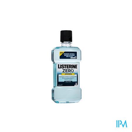 Listerine Zero Rince-bouche 500 ml