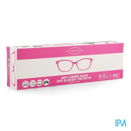 Optique Bril A/blauw Licht 8-12j Roze Horizane