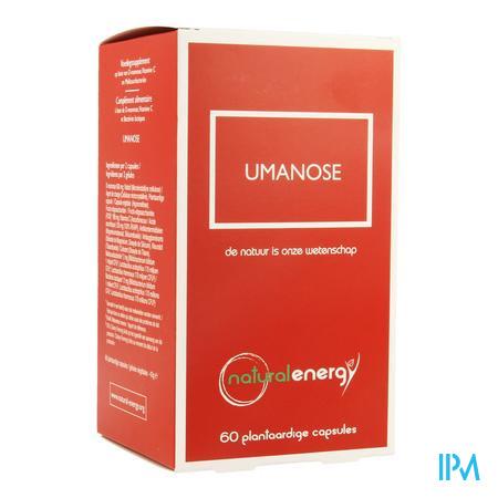 Umanose Natural Energy Caps 60
