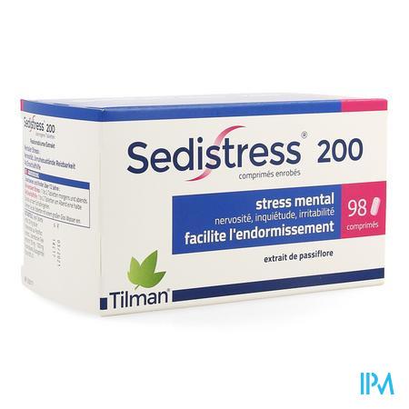Sedistress 200 Comprimes Enrobe 98  -  Tilman