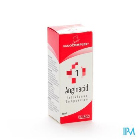 Vanocomplex 01 Anginacid (ontsteking) 20ml