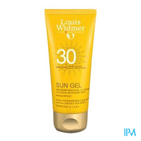 Widmer Sun Gel Ip30 N/parf Tube 100ml