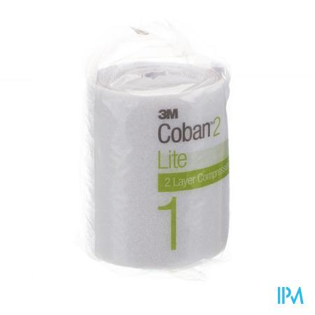 3M Coban 2 Lite Comfort 10Cm x 2.7M 1 pièce
