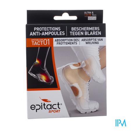 Afbeelding Epitact Beschermers tegen Blaren Ultradun (1 mm) 4 Pads + 12 Wegwerpklevers.