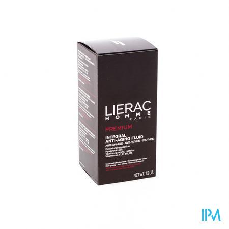 Afbeelding Lierac Homme Premium Integrale Kalmerende Anti-Ageing Fluide tegen Rimpels en tegen Vermoeidheid voor Mannen 40 ml.