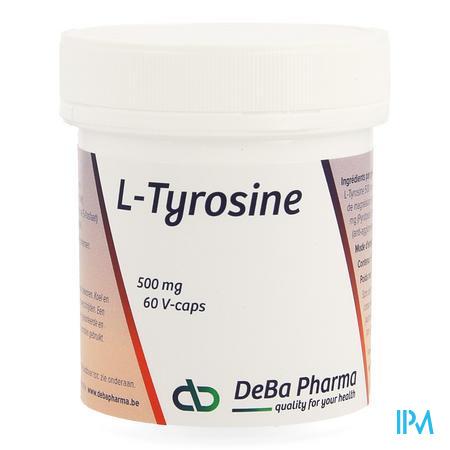 l-tyrosine Caps 60x500mg Deba