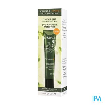 Caudalie Polyphenol C15 Anti Rimpel Fluide SPF20 40 ml crème