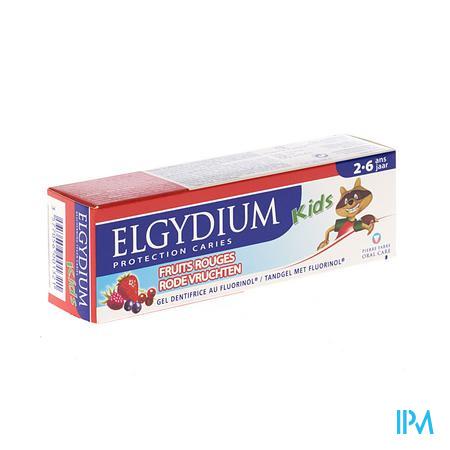 Afbeelding Elgydium Kids Tandpasta Rode Vruchten.