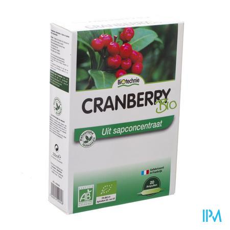 Biotechnie Cranberry Bio 20 x 10 ml ampoules