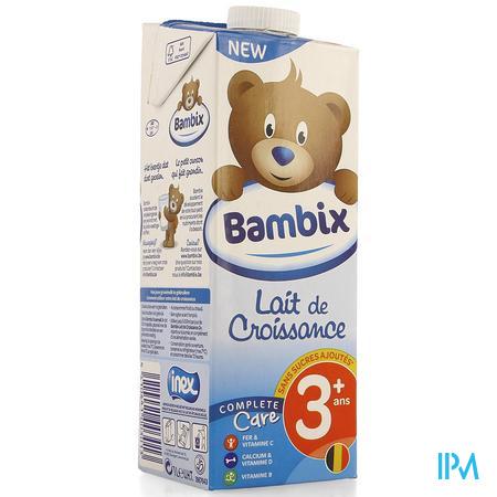 Bambix Groeimelk Natuur 3+ 1l