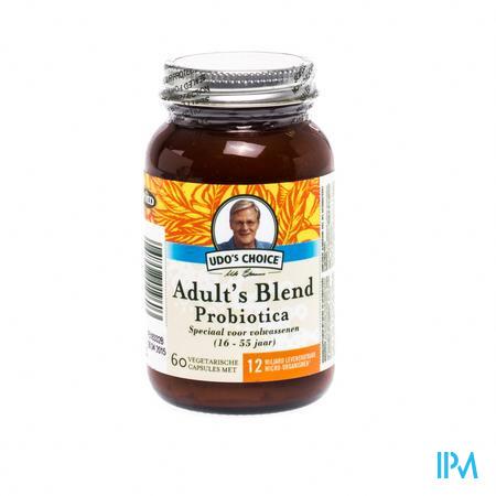 Udo S Choice Adults Blend Probiotique V-caps 60