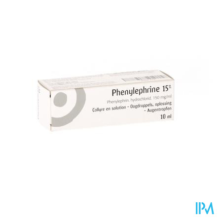 Phenylephrine Collyre 10ml 15%