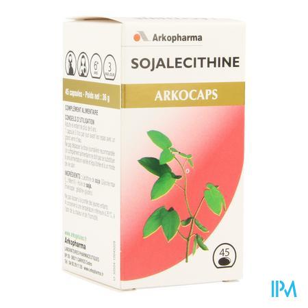 Arkocaps Sojalecithine Plantaardig 45