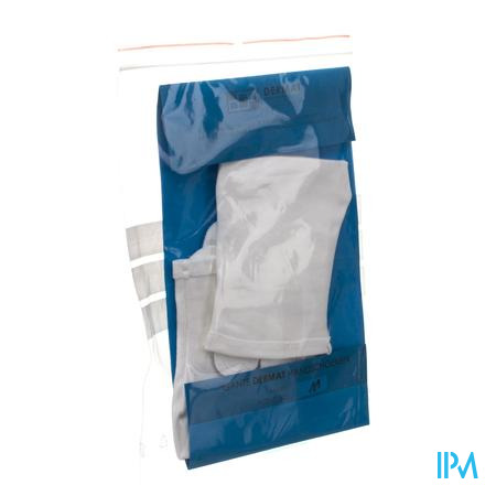Dermat Gants 2 Medium 100% Coton
