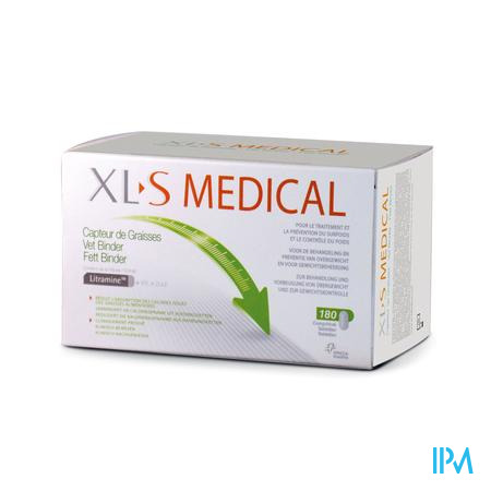 Afbeelding XLS Medical Vet binder 180 tabletten.