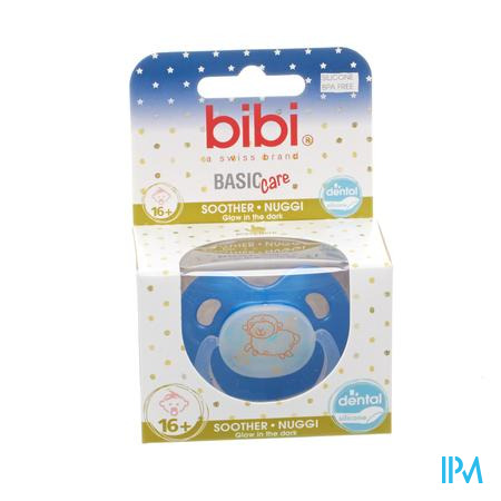Bibi Fopspeen Basic Care Glow +16M