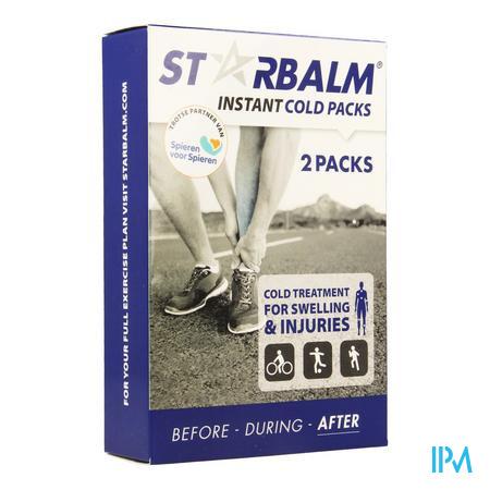 Star Balm Fast Cold Pack 11,5cmx19cm 2x75 gr