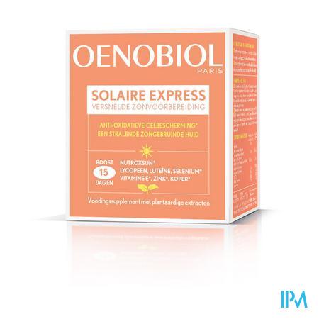 Oenobiol Solaire Express Caps 15