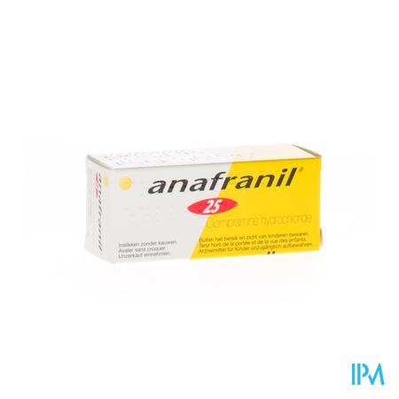 Anafranil Drag 30 X 25mg