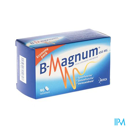 Farmawebshop - B-MAGNUM TABL 90X450MG