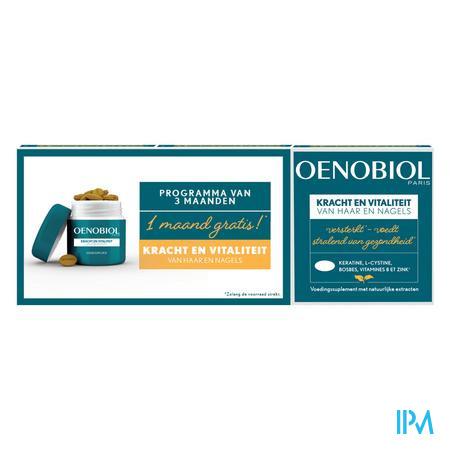 Oenobiol Kracht & Vitaliteit Caps 3x60