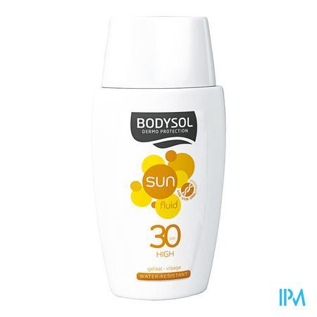 Bodysol Gelaat Sunfluid Spf30 50 ml