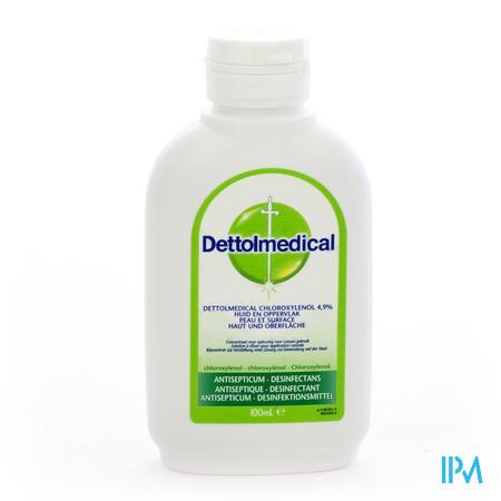 Farmawebshop - DETTOLMEDICAL CHLOROXYLENOL 4,9% 100ML