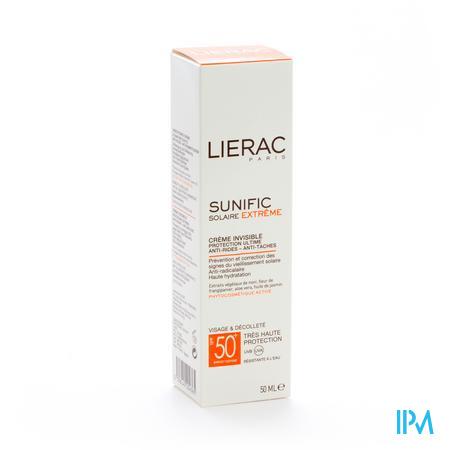 Lierac Sunific Creme Invisible Ip50 50 ml