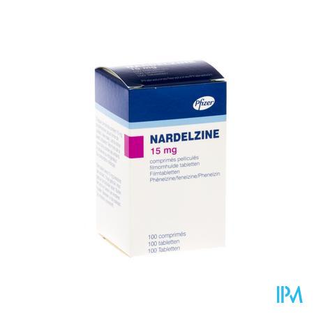 Nardelzine Drag 100 X 15mg