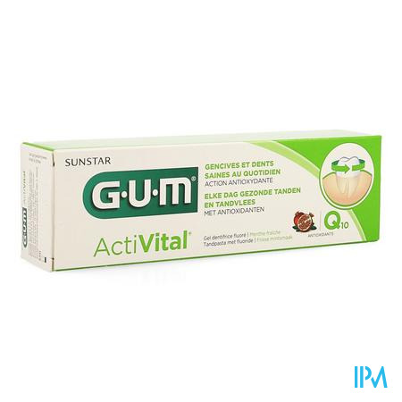 Gum Dentifrice Activital 75 ml
