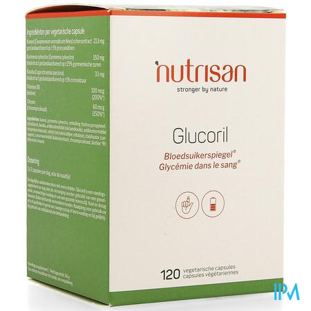 Glucoril  120 Caps Nutrisan
