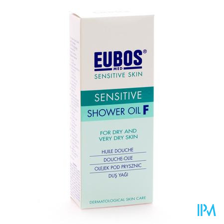 Eubos Groen Doucheolie 200 ml