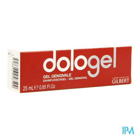 Gilbert Dologel Baume Gingival 25 ml tube