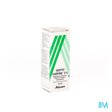 ISOPTO CARPINE 2% 15ML