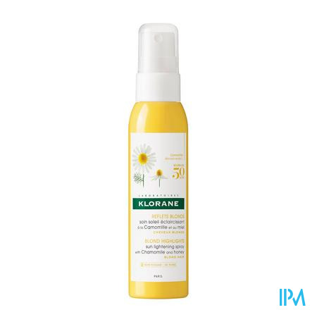 Klorane Capil. Spray Verlicht. Kamille 125ml