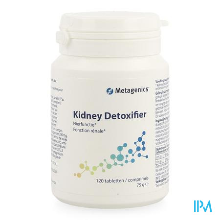 Kidney Detoxifier Nf Comp 120 4008 Metagenics
