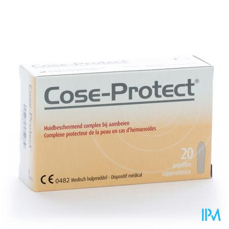 Cose-Protect 20 suppositoires