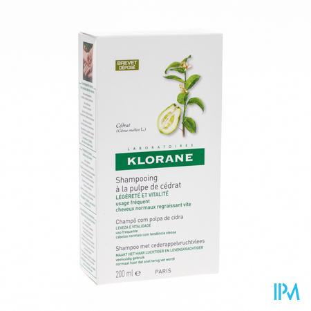 Klorane Shampooing Brillance Pomme De Cedre 200 ml