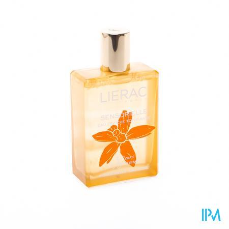 Afbeelding Lierac Sensorielle Eau Fraîche Tonifiante Verkwikkende Eau Fraîche met 3 Citrusbloemen voor Hydratatie Sprayflacon 100 ml.