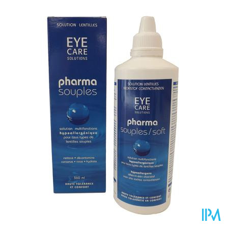Eye Care Pharma Solution Soft Lentilles 360 ml