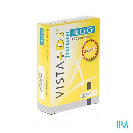 Vista D3 400 Junior 120 smelttabletten