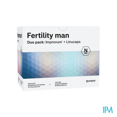 Fertility Man Duo 60 Tabl Improv.+60 Caps Linucaps