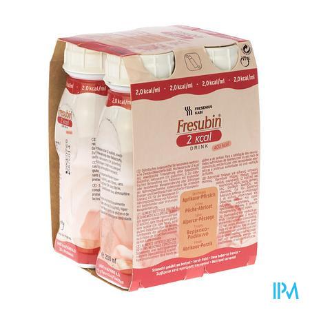 Fresubin 2 Kcal Drink Abricot-Peche 4 x 200 ml