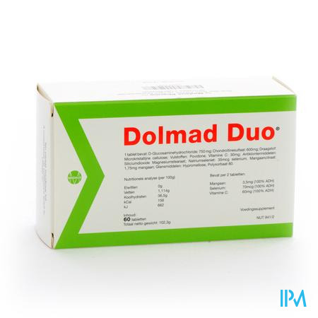 Afbeelding Dolmad Duo 60 tabletten.