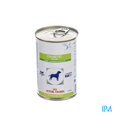 Royal Canin Hond Diabetic Special Low Carbohydrate 410 g