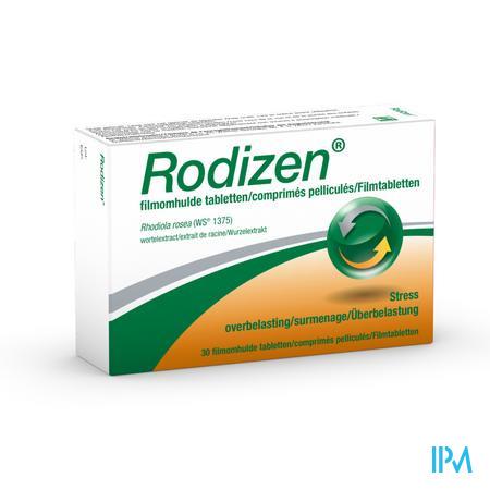 Afbeelding Rodizen met Rhodiola rosea Wortelextract 30 Tabletten .