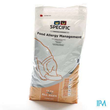 Specific CDD-HY Food Allergie Chien 15 kg