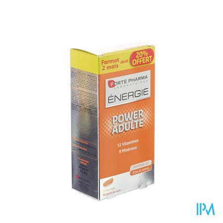 Forté Pharma Energie Power Adulte 56 comprimés