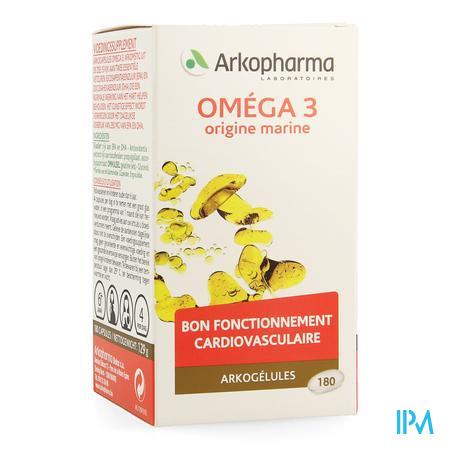 Arkocaps Omega 3 Uit De Zee 180